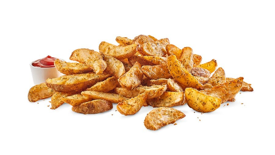 Large Potato Wedges from Buffalo Wild Wings - Manitowoc in Manitowoc, WI