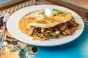Quesadilla Fajita from Casa Vallarta Mexican Restaurant in Eau Claire, WI