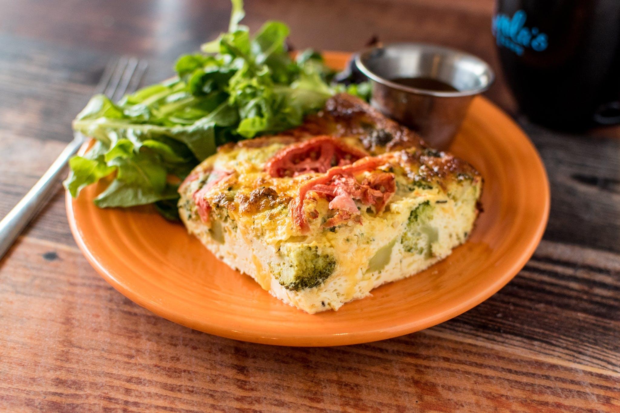 Veggie Frittata (Veg) (GF) from Yola's Cafe in Madison, WI