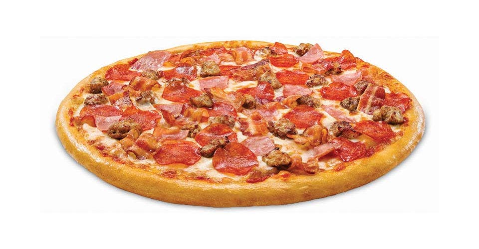 Meat Topper Pizza from Toppers Pizza - Madison Downtown in Madison, WI
