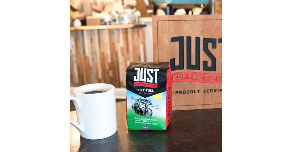 Just Coffee Bike Fuel (Medium Roast) from Vitruvian Farms in Madison, WI
