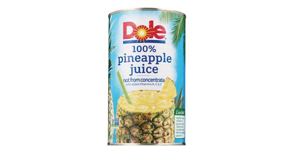 Dole Pineapple Juice 100% Not From Concentrate (46 oz) from CVS - Main St in Green Bay, WI
