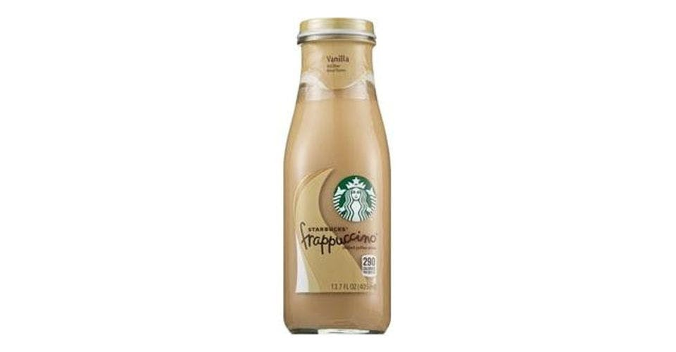 Starbucks Frappuccino Chilled Coffee Drink Vanilla (13.7 oz) from CVS - Main St in Green Bay, WI