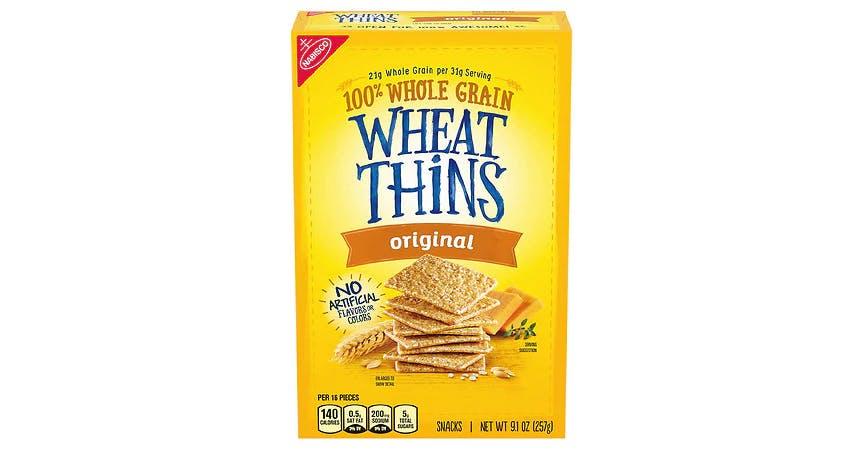 Wheat Thins 100% Whole Grain Crackers Original (9 oz) from EatStreet Convenience - SW Wanamaker Rd in Topeka, KS