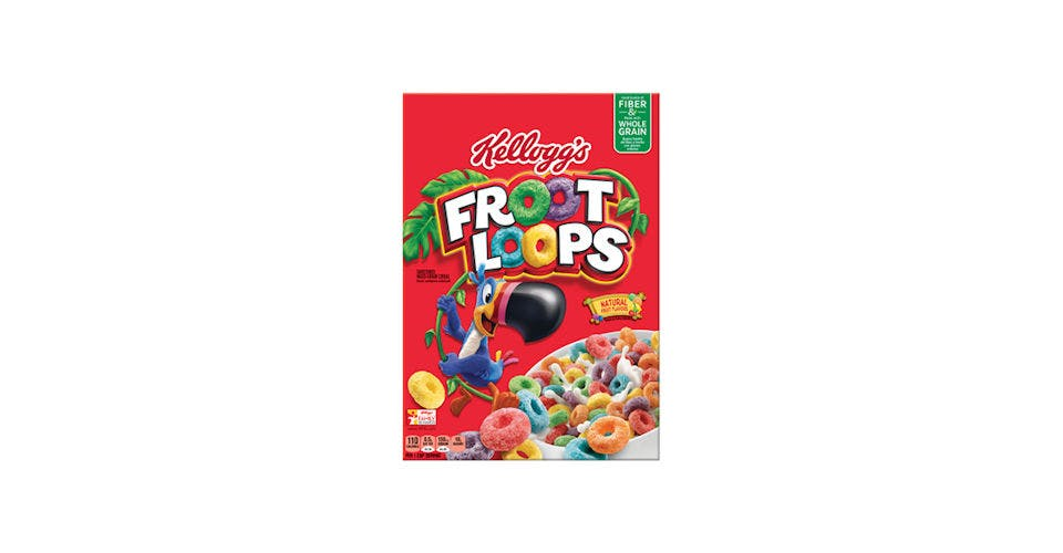 Kelloggs Froot Loops 10.1OZ from Kwik Trip - Eau Claire Water St in EAU CLAIRE, WI
