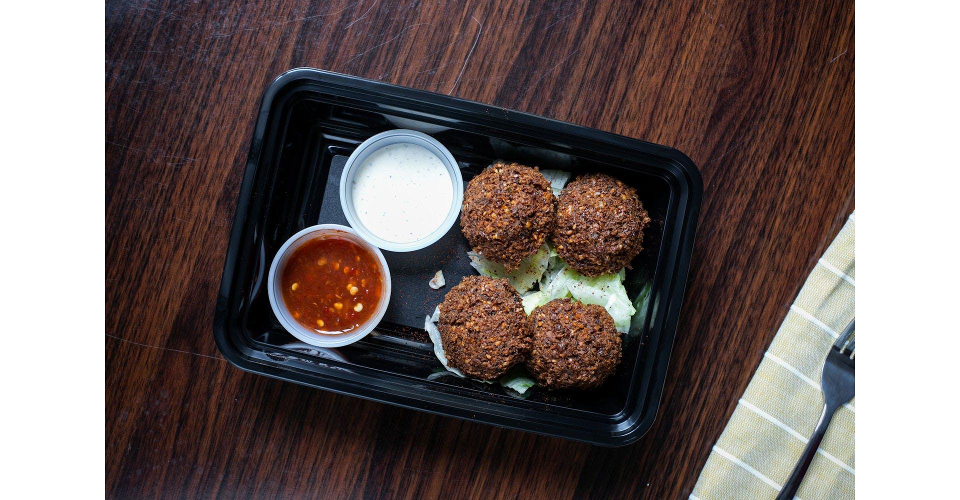 Falafel Snack from Austin's Habibi in Austin, TX