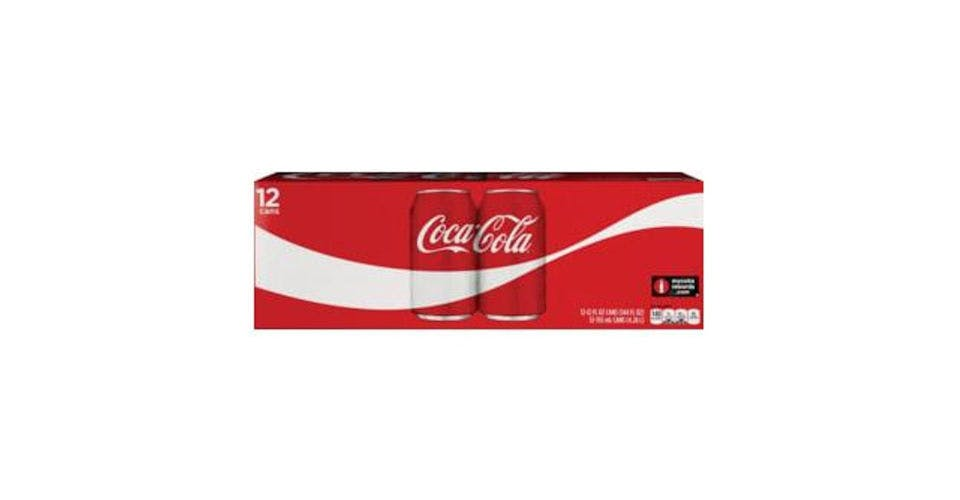Coca Cola Classic Can 12 Pack (12 oz) from CVS - Main St in Green Bay, WI