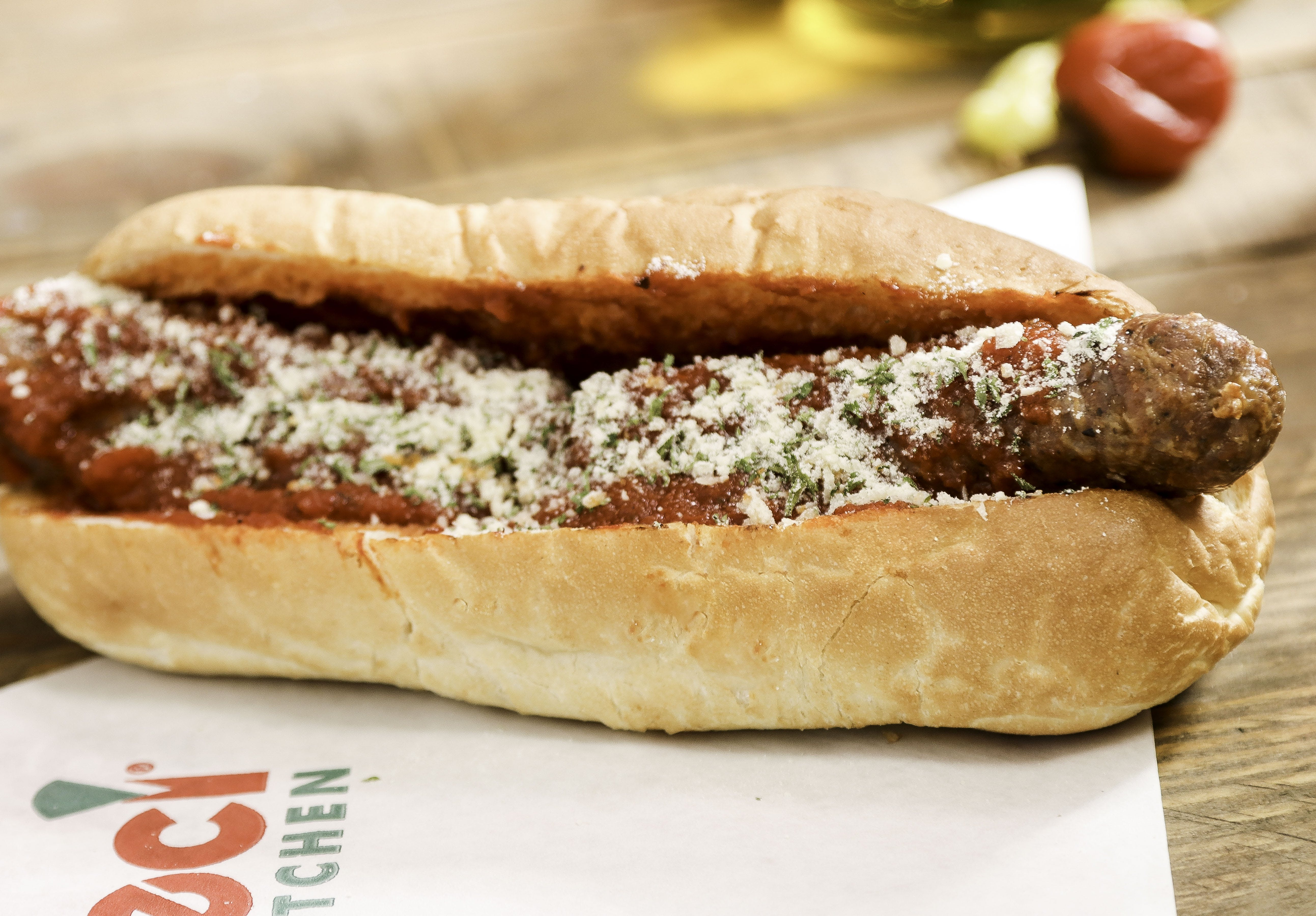 Sausage Sandwich from Ameci Pizza & Pasta - Lake Forest in Lake Forest, CA
