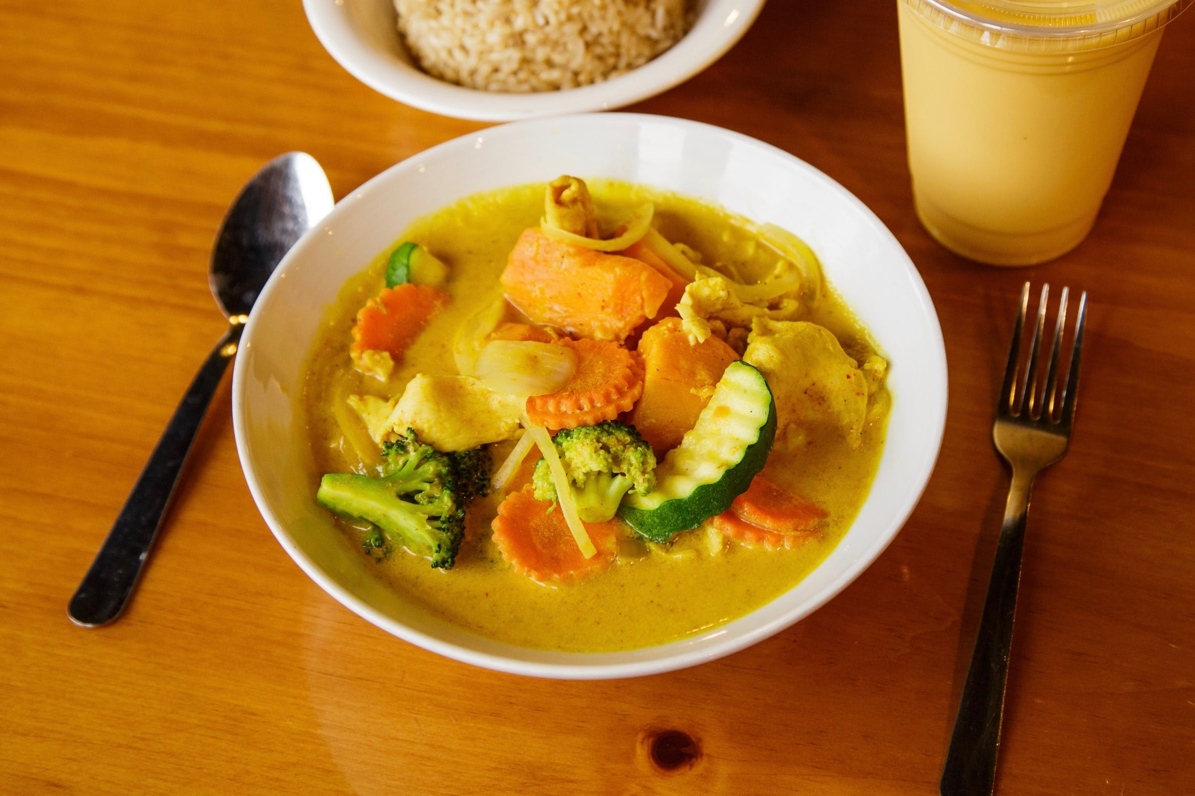 Sweet Potato Curry * from Curry Campus in Madison, WI