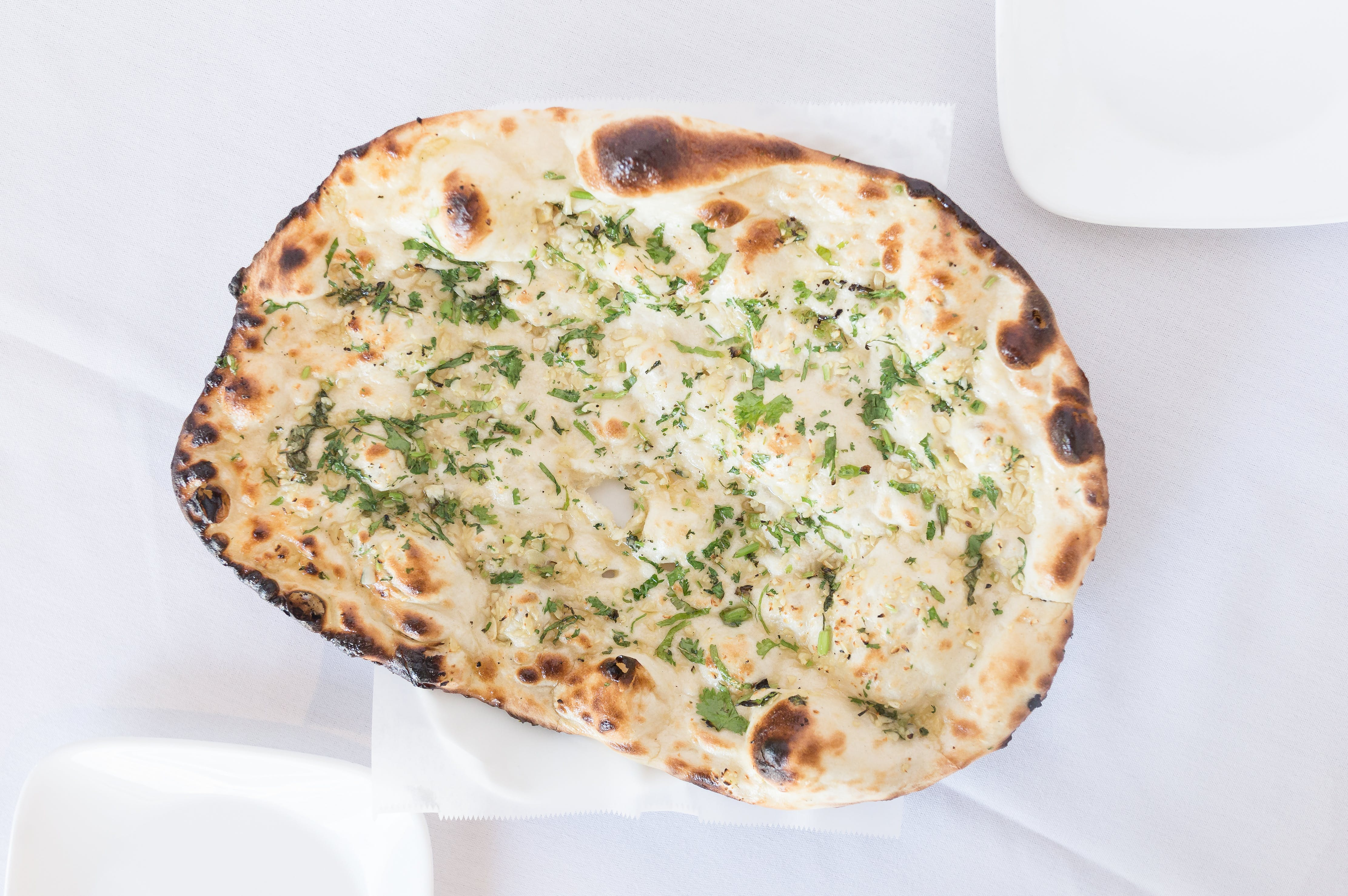 Garlic Naan from Bollywood Grill in Milwaukee, WI