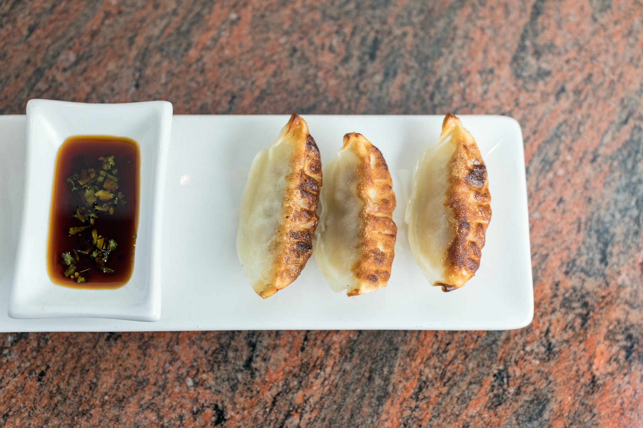 Gyoza (Pork) from Shanghai Bistro in Eau Claire, WI