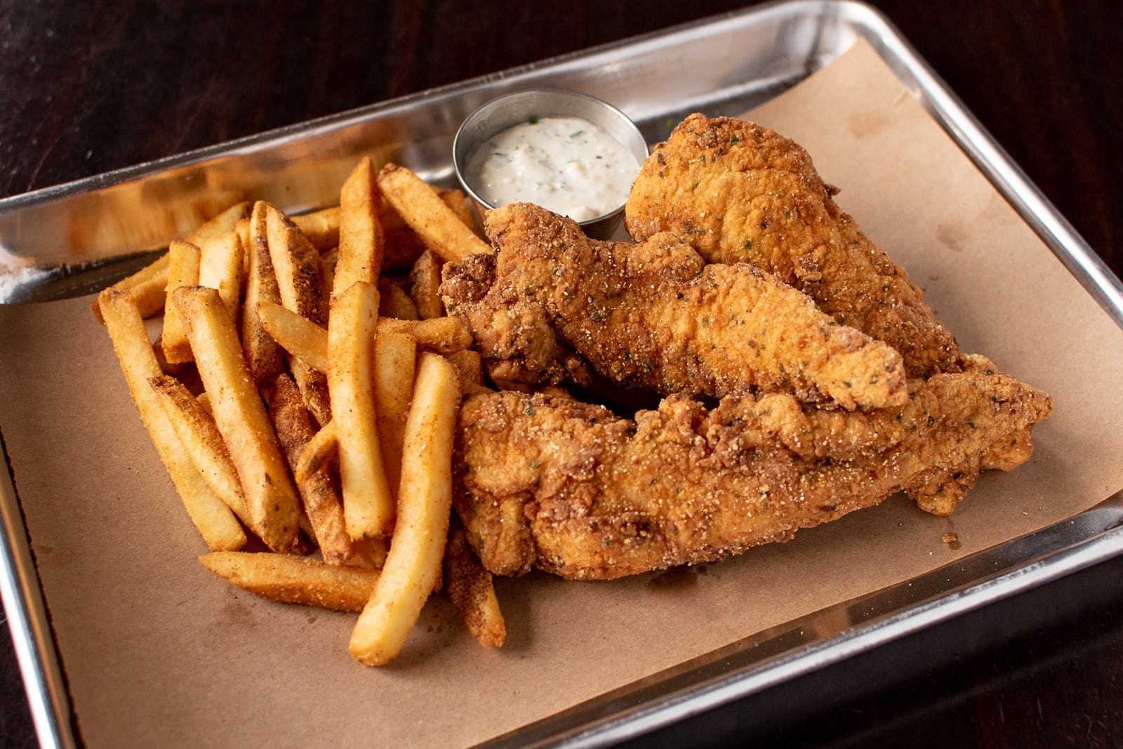 Hand Breaded Chicken Tenders Combo Meal from Midcoast Wings - Wausau in Wausau, WI