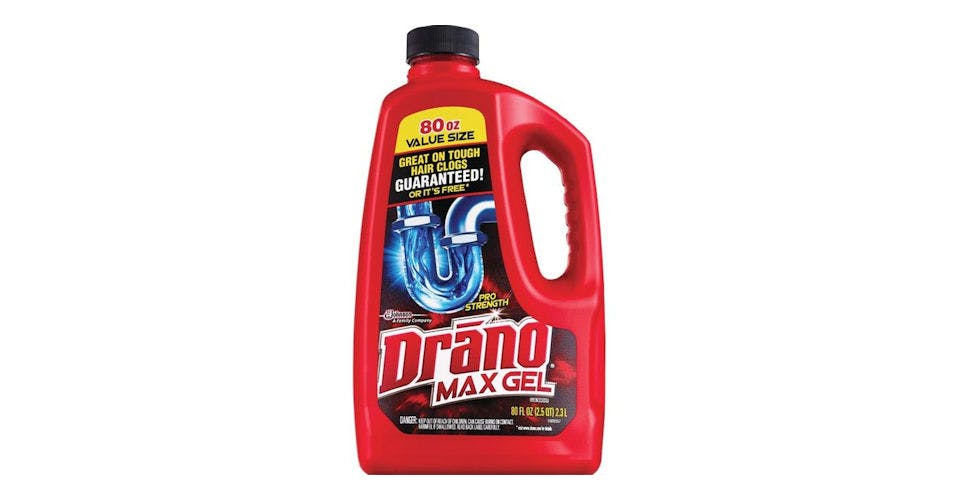 Drano Plus Liquid Professional Strength (80 oz) from CVS - Main St in Green Bay, WI