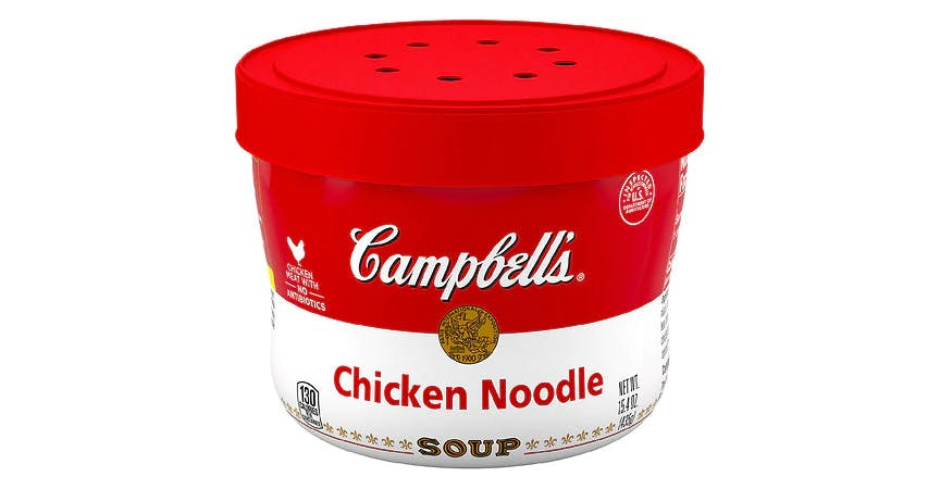 Campbell's Chicken Noodle Soup Microwavable Bowl (15.4 oz) from EatStreet Convenience - W Mason St in Green Bay, WI