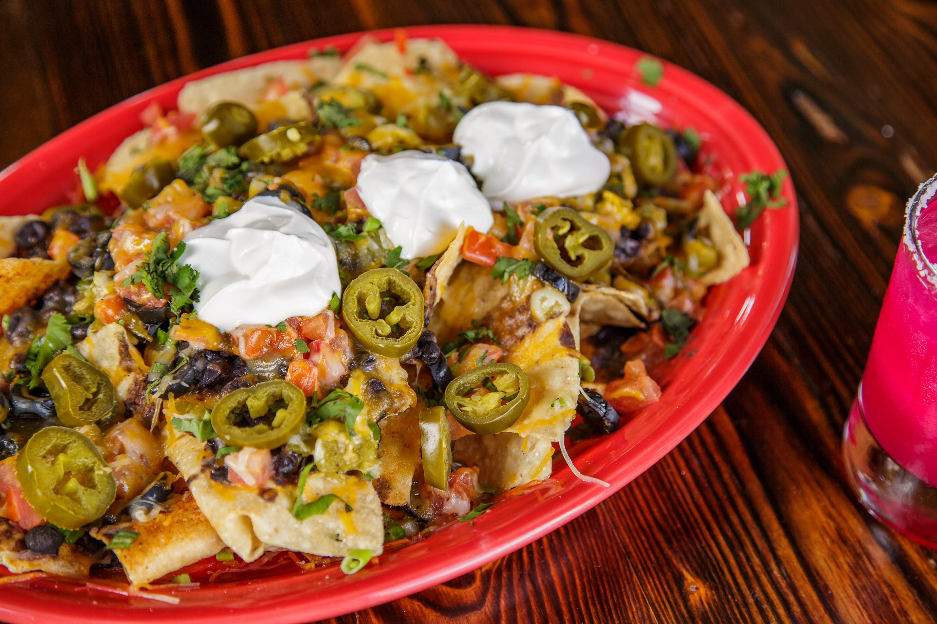 Nachos Deluxe from Pasqual's Cantina - Hilldale in Madison, WI