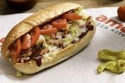 BBQ Chicken Sandwich from Ameci Pizza & Pasta - Irvine in Irvine, CA