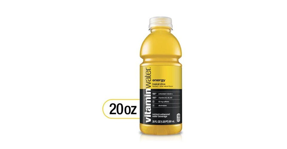 Glaceau vitaminwater Energy Tropical Citrus (20 oz) from CVS - Main St in Green Bay, WI