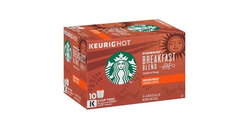 Starbucks K-Cups Breakfast Blend (10 pk) from EatStreet Convenience - W Mason St in Green Bay, WI