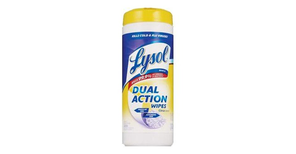 Lysol Dual Action Disinfecting Wipes Citrus (35 ct) from CVS - Main St in Green Bay, WI