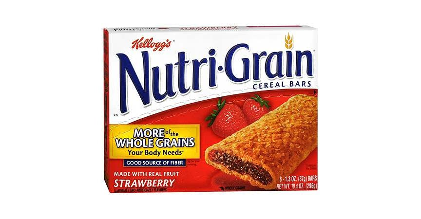 Nutri-Grain Cereal Bars Strawberry (1 oz) from EatStreet Convenience - W Mason St in Green Bay, WI