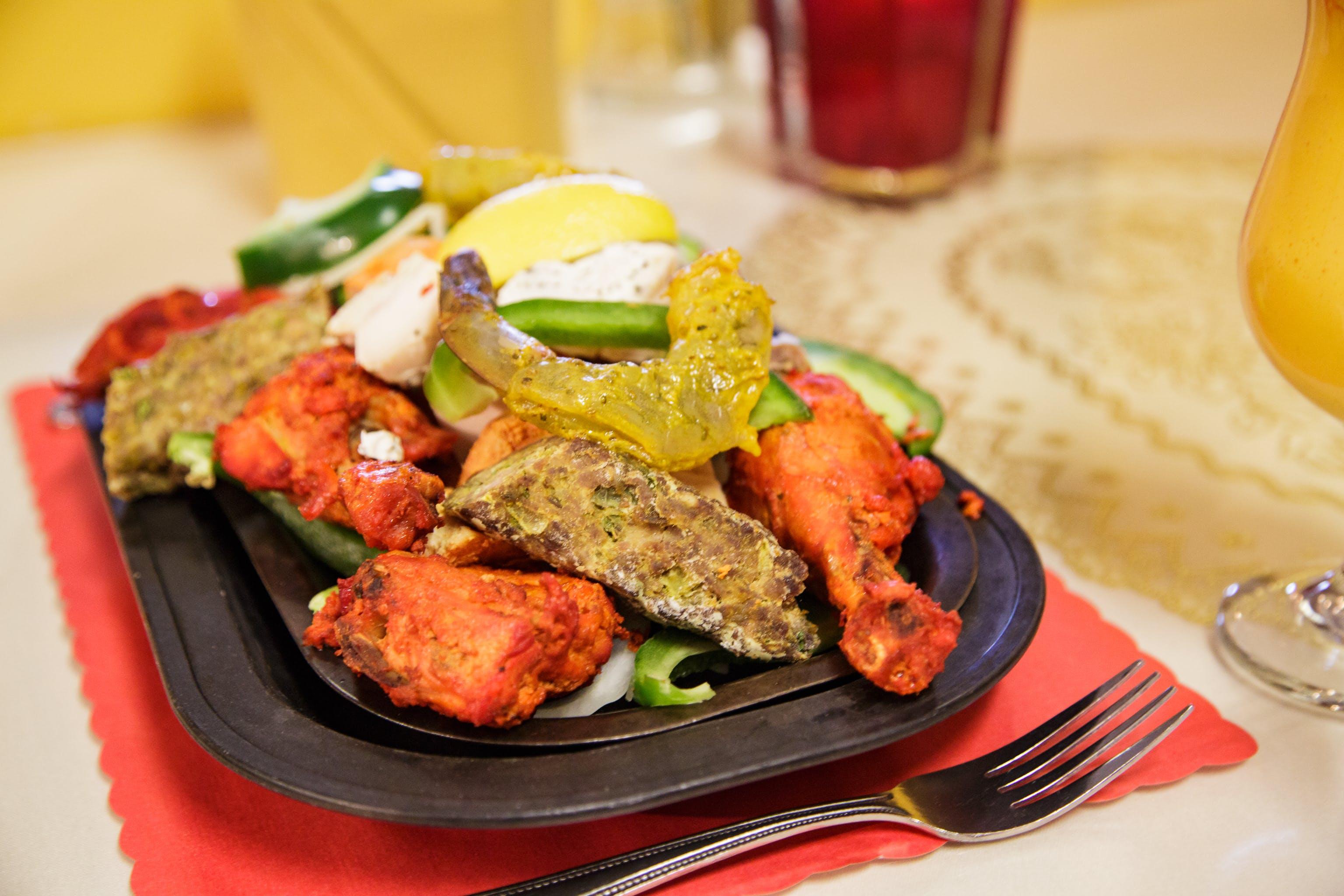 5. Tandoori Mixed Grill from Maharana Restaurant in Madison, WI