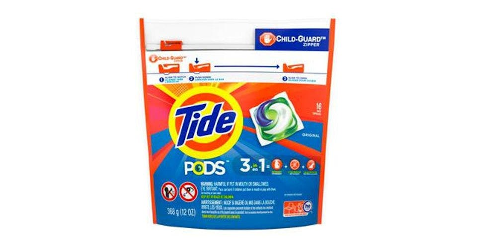 Tide PODS Liquid Laundry Detergent Pacs, Original (16 ct) from CVS - Main St in Green Bay, WI