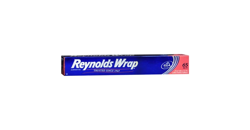 Reynolds Wrap 65 ft Aluminum Foil (1 ct) from EatStreet Convenience - SW Gage Blvd in Topeka, KS