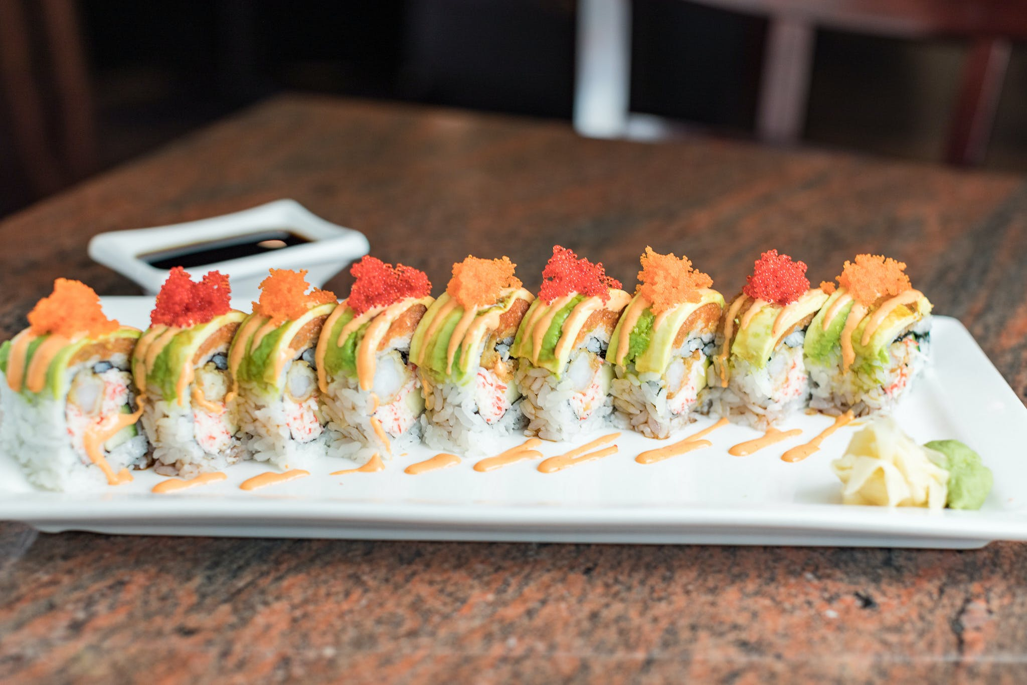 Monster Roll from Shanghai Bistro in Eau Claire, WI
