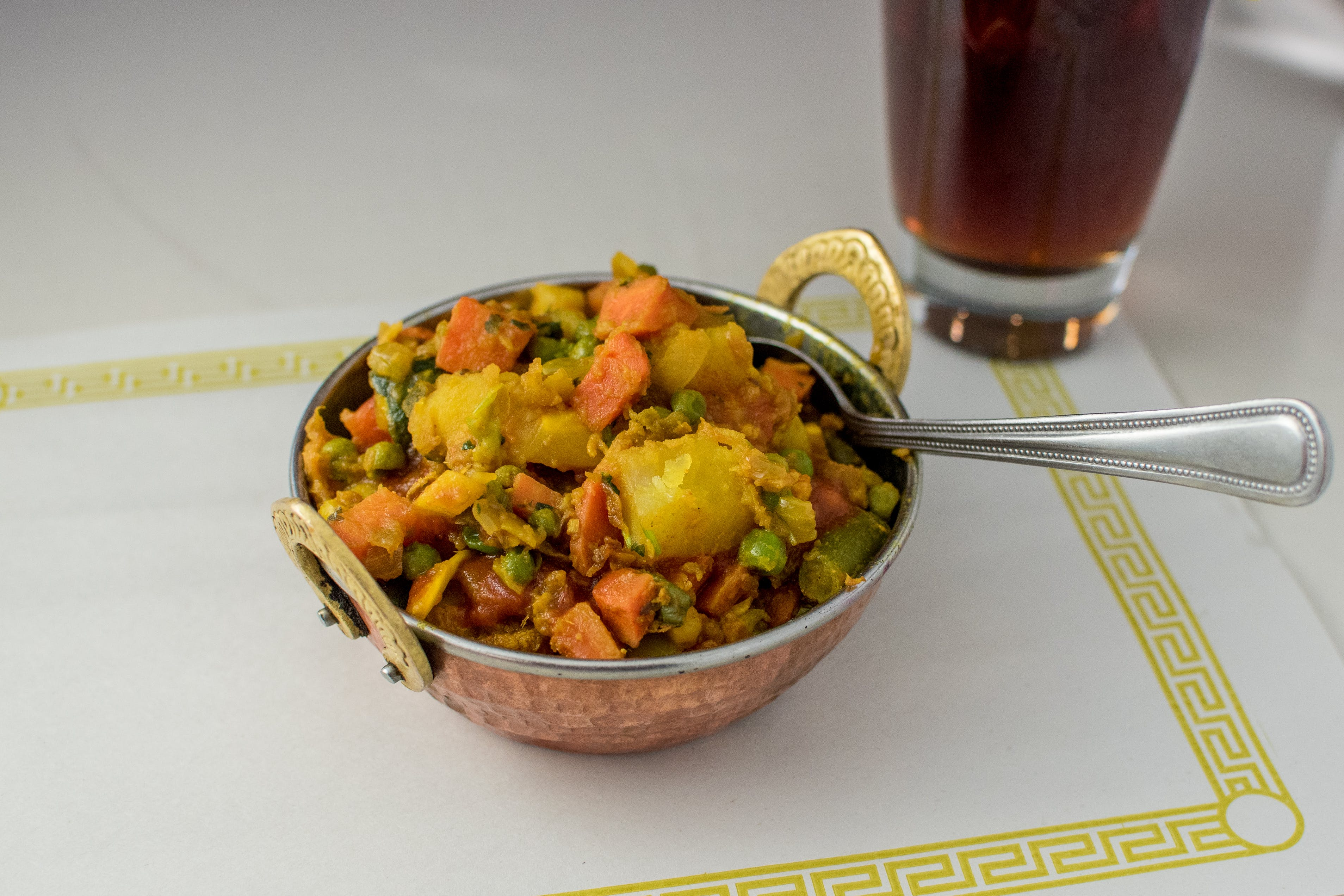 Vegetable Mix Curry (V) from Maharani Restaurant in Madison, WI
