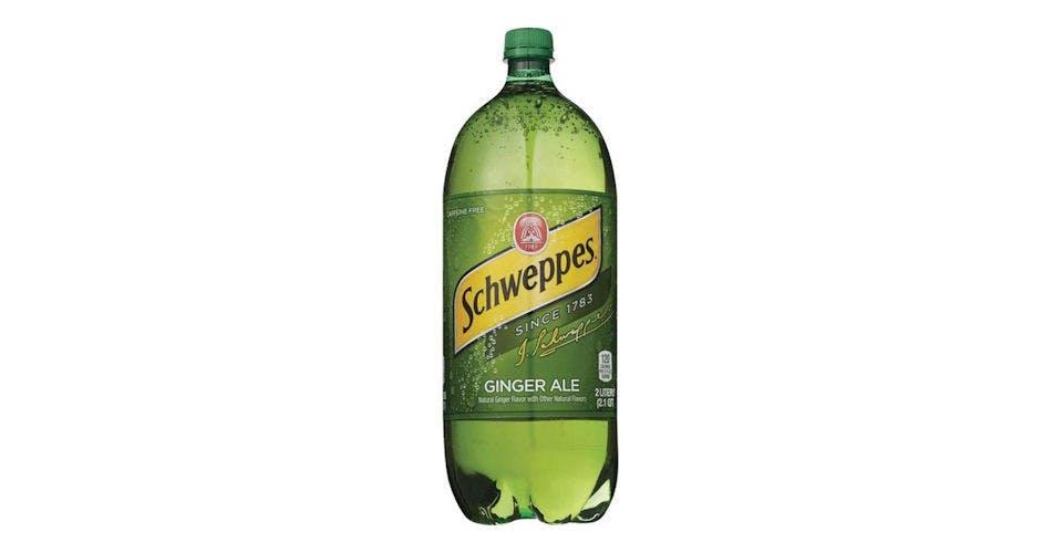 Schweppes Ginger Ale Soda (2-Liter Bottle) (67.6 oz) from CVS - Main St in Green Bay, WI