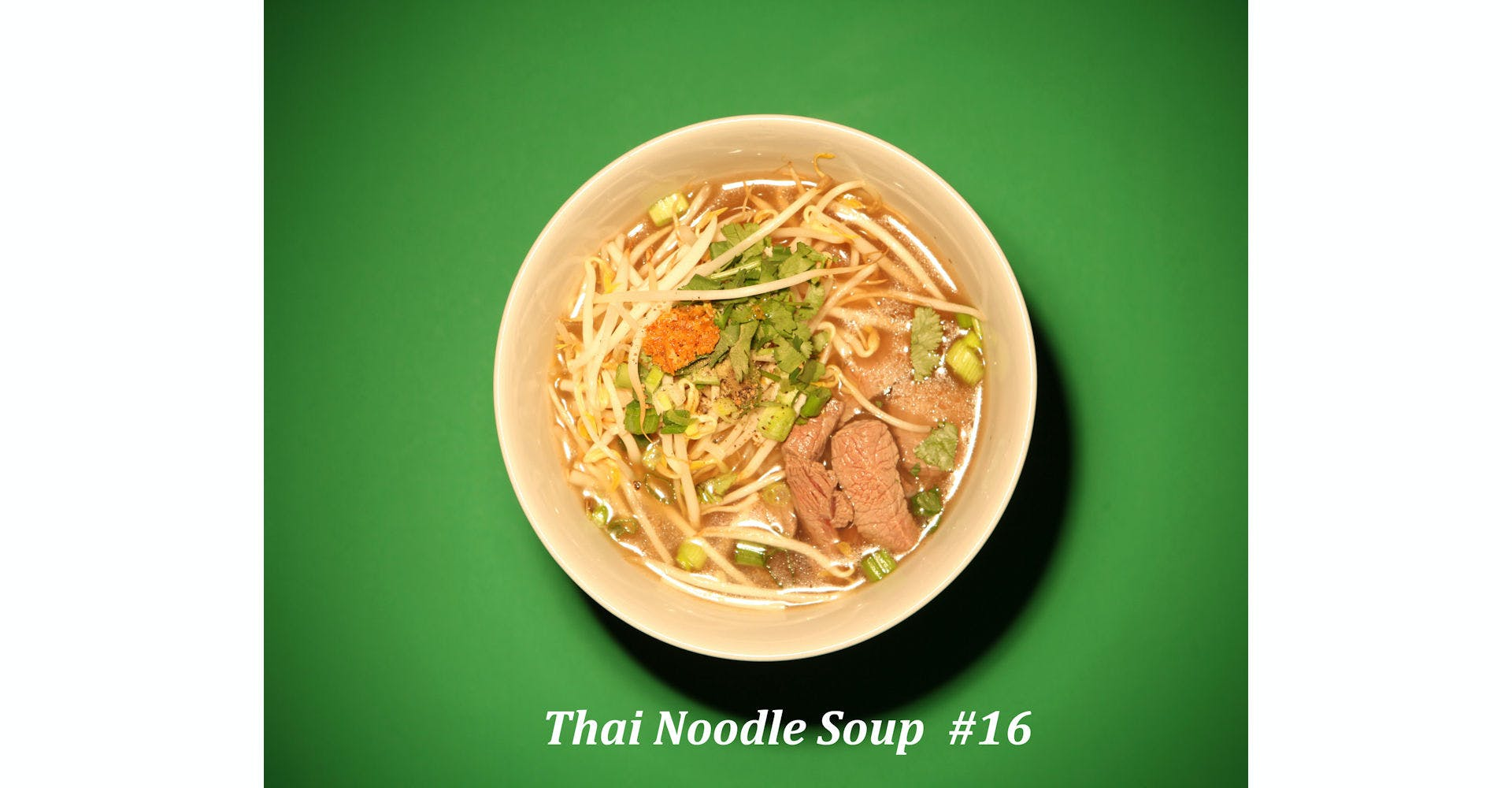 16. Thai Noodle Soup from Narin's Thai Kitchen in Green Bay, WI