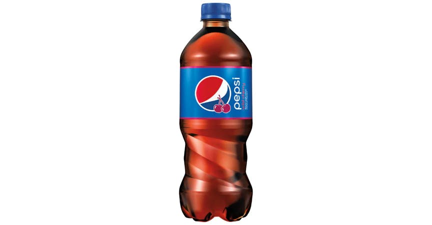 Pepsi Soda Wild Cherry (20 oz) from EatStreet Convenience - W Mason St in Green Bay, WI