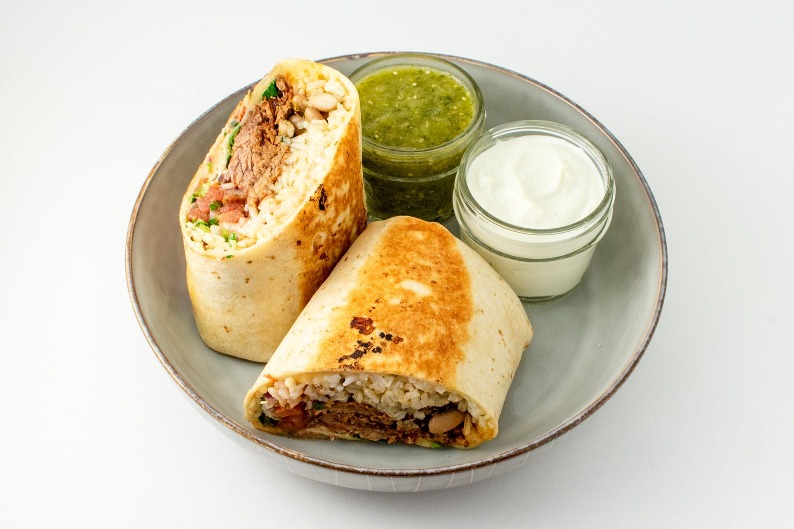 12 Hour Brisket Burrito from Taco Royale - Eastside Madison in Madison, WI