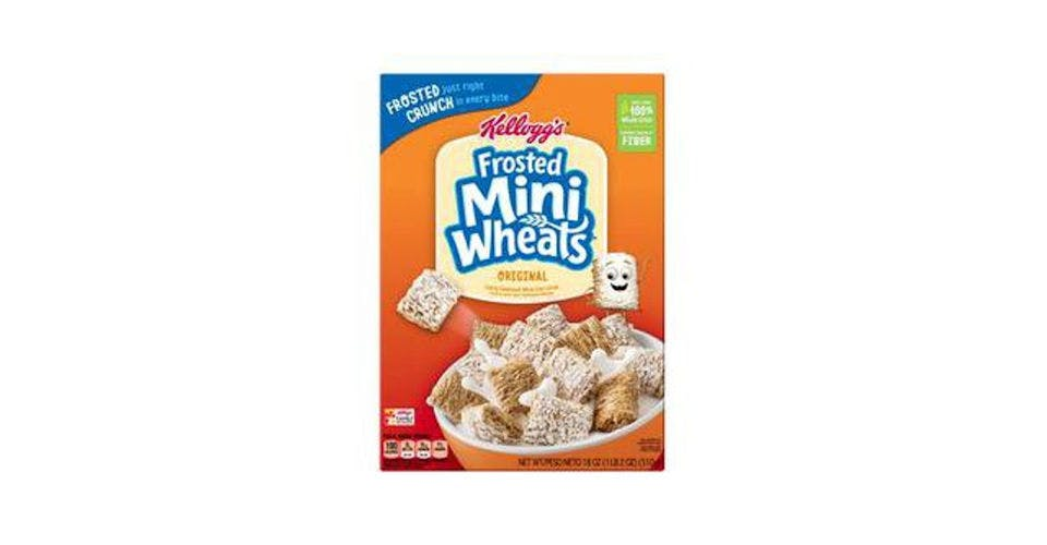Kellogg's Frosted Mini-Wheats Cereal (18 oz) from CVS - Main St in Green Bay, WI