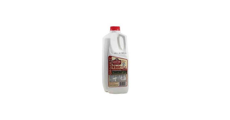 Organic Whole Milk (Half Gallon) from Vitruvian Farms in Madison, WI