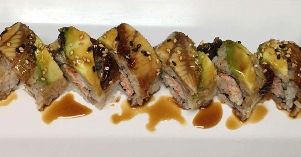 84. Dragon Roll (8 Pcs) from Oishi Sushi & Grill in Walnut Creek, CA