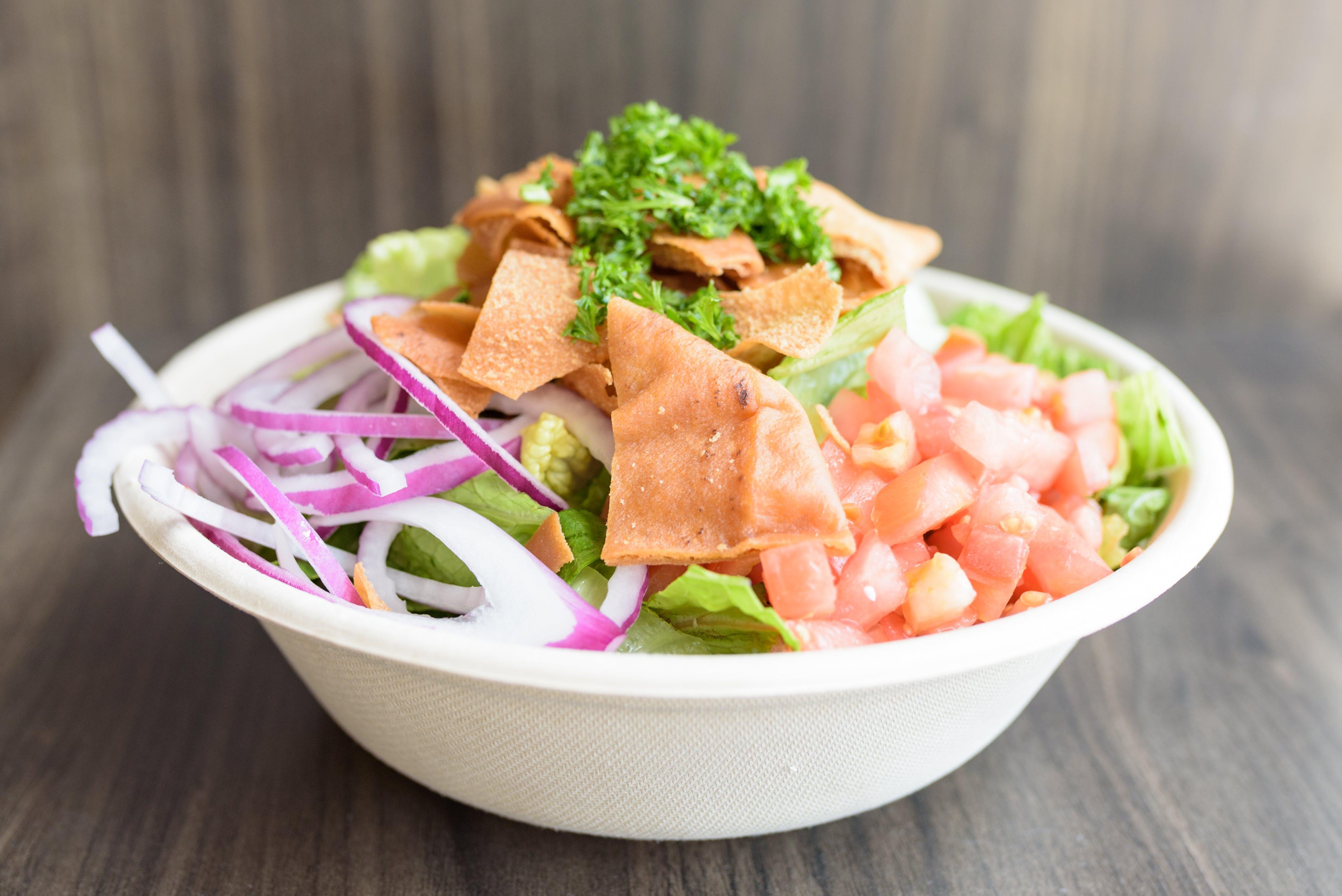 Fattoush Salad from Baba Dari Ann Arbor in Ann Arbor, MI
