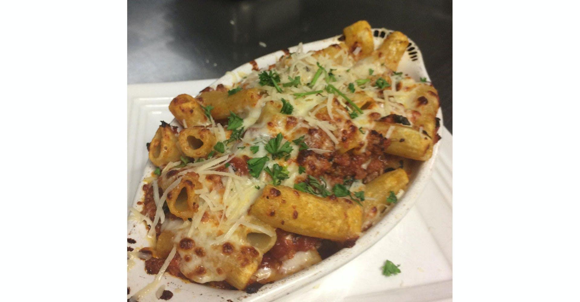 Ziti from Grazies Italian Grill in Stevens Point, WI