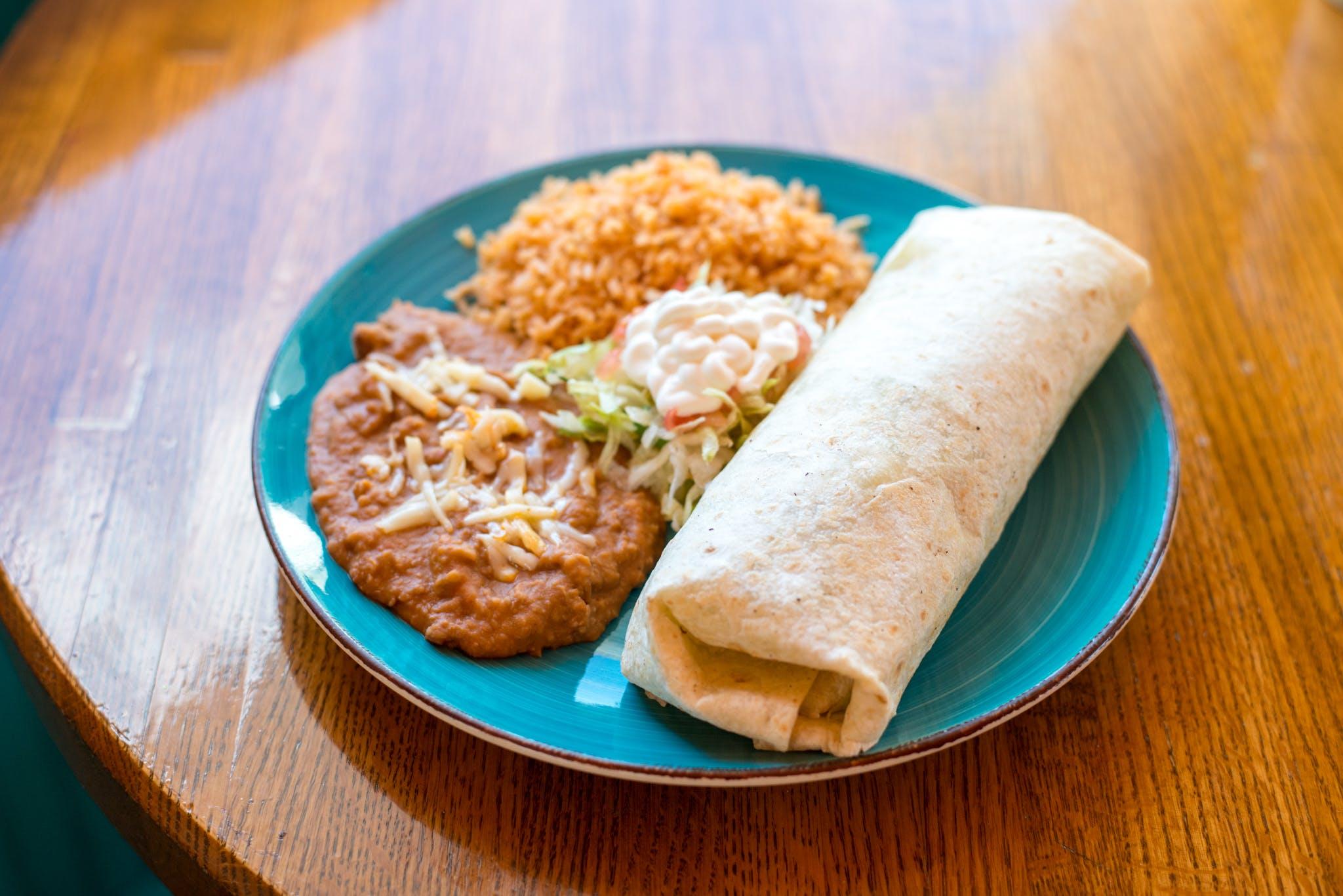 Americano Burrito from Taqueria Maldonado's - Main Street in Green Bay, WI