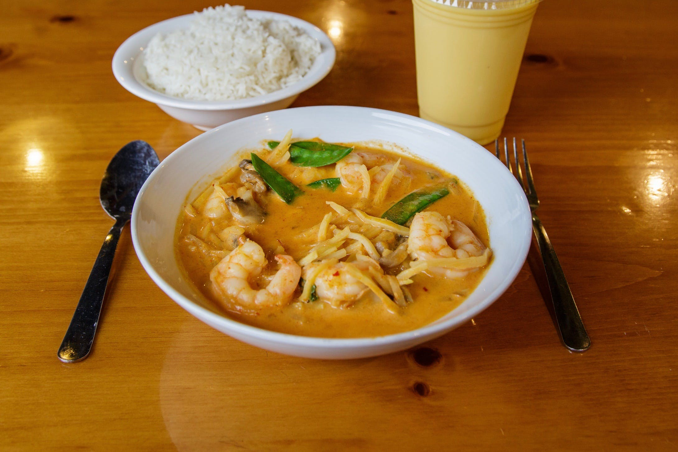 Red Curry** from Curry Campus in Madison, WI