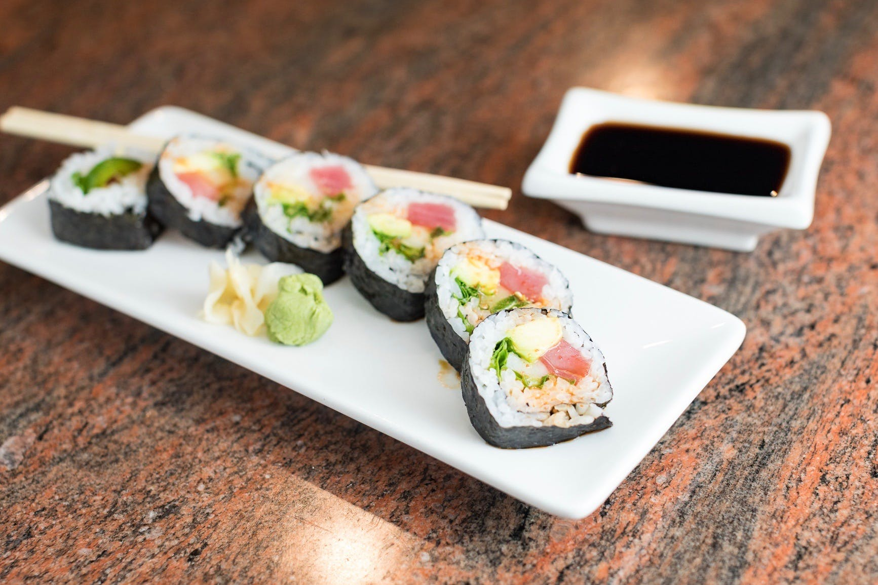 Mexican Roll from Shanghai Bistro in Eau Claire, WI