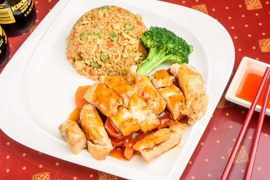 J 2. Teriyaki Chicken from Ling's Bistro in Topeka, KS