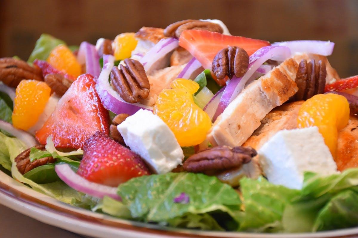 Strawberry Salad from Golden Basket Restaurant in Green Bay, WI