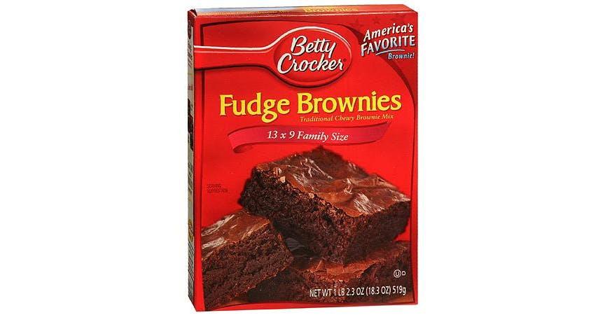 Betty Crocker Traditional Chewy Fudge Brownie (18 oz) from EatStreet Convenience - W Mason St in Green Bay, WI
