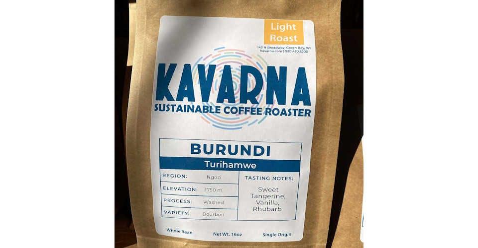 Burundi Turihamwe - 16 oz. from Kavarna Coffee Store in Green Bay, WI