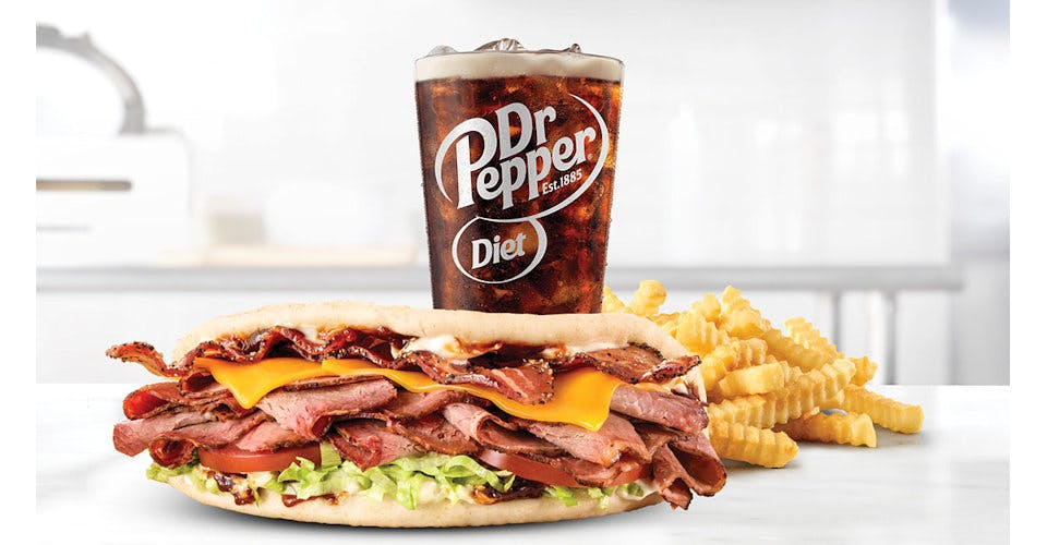 Brisket Bacon Flatbread - Make it a Meal from Arby's: Eau Claire Hendrickson Dr (1958) in Eau Claire, WI