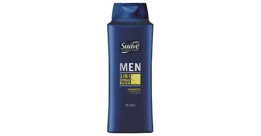 Suave 3 in 1 Shampoo Conditioner Body Wash Citrus Rush (28 oz) from EatStreet Convenience - SW Gage Blvd in Topeka, KS
