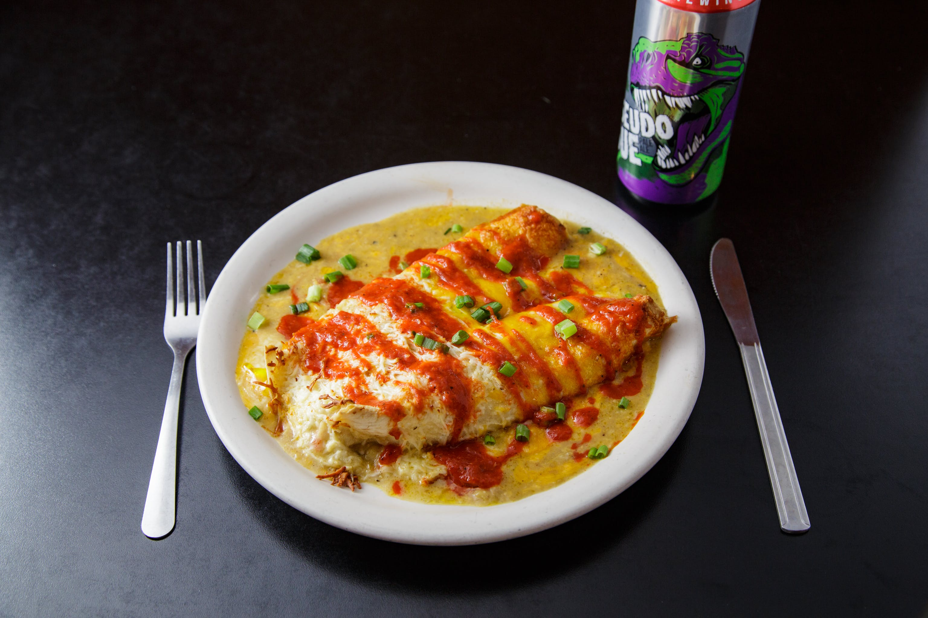 Cheese Enchilada from Burrito Drive in Madison, WI