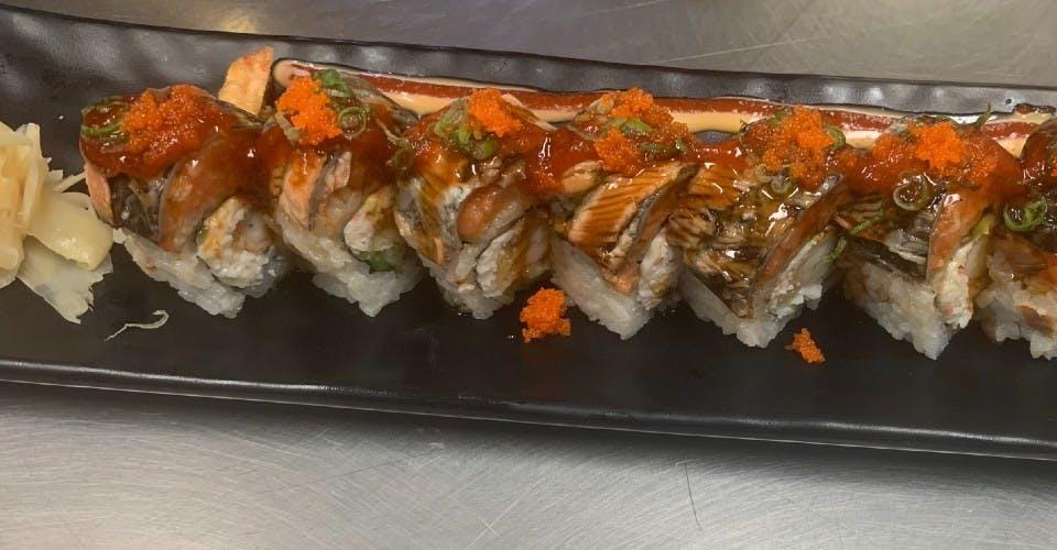 112A. Oishi Spicy Roll (8 Pcs) from Oishi Sushi & Grill in Walnut Creek, CA
