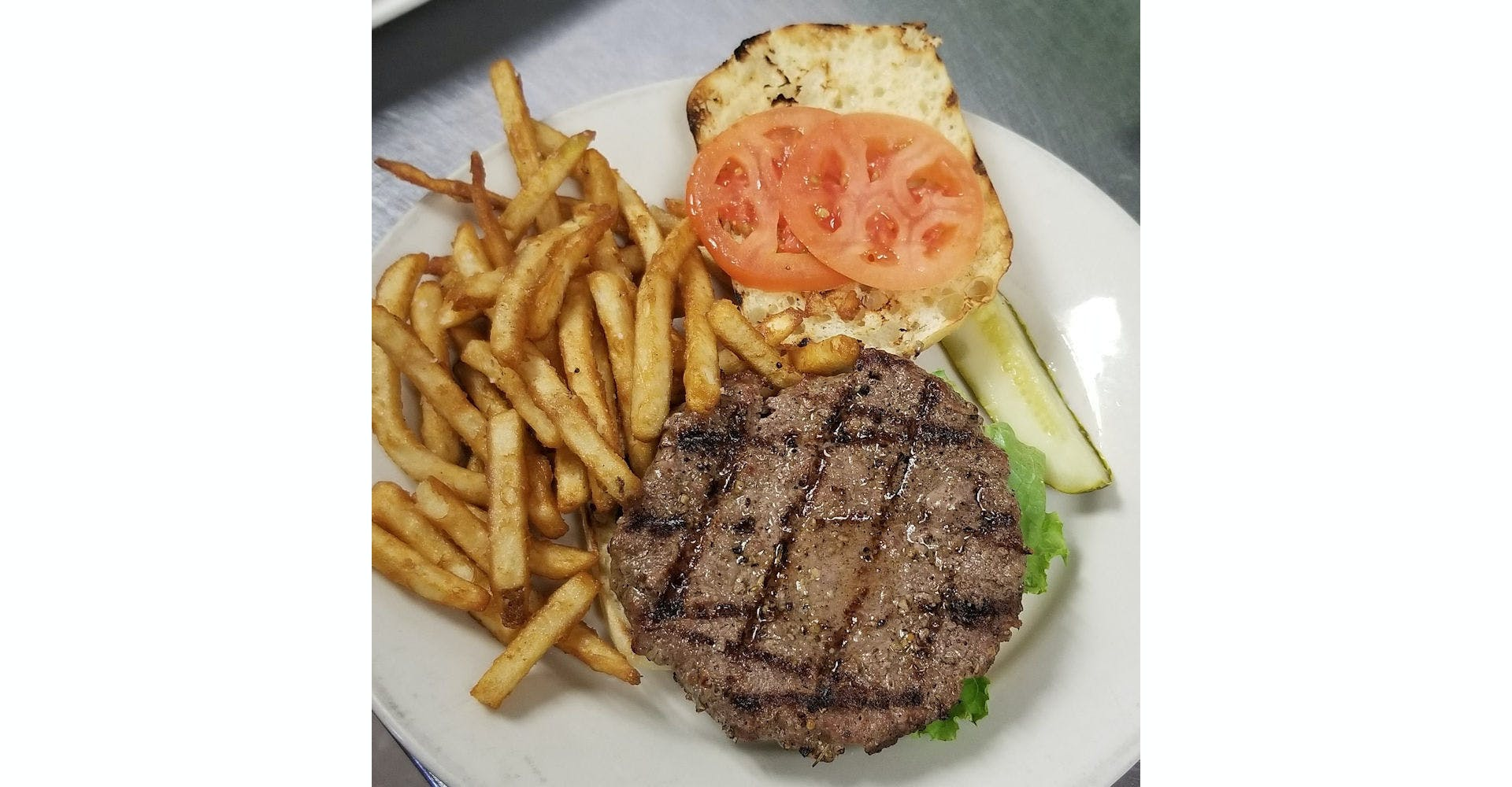 Build-A-Burger from Grazies Italian Grill in Stevens Point, WI